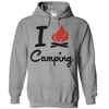I Love Camping T Shirt - awesomethreadz