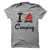 I Love Camping  [T-Shirt] awesomethreadz