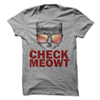 Check Meowt T Shirt - awesomethreadz