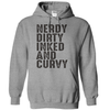 Nerdy Dirty Inked And Curvy  [T-Shirt] awesomethreadz