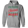 It's Christmas And We're All In Misery T Shirt - awesomethreadz