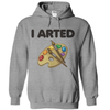 I Arted  [T-Shirt] awesomethreadz