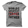 Worlds Greatest Farter Father  [T-Shirt] awesomethreadz