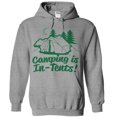 Camping Is In-Tents   - awesomethreadz