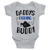 Daddy's Fishing Buddy Onesie  [T-Shirt] awesomethreadz