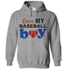 Love My Baseball Boy  [T-Shirt] awesomethreadz