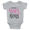 Little Miss Sassy Pants Onesie  [T-Shirt] awesomethreadz