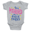 Be A Unicorn In A Field Of Horses Onesie  [T-Shirt] awesomethreadz