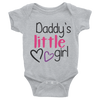 Daddy's Little Girl Onesie  [T-Shirt] awesomethreadz