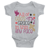 All Of God's Grace In This Tiny Face Onesie  [T-Shirt] awesomethreadz