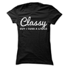 Classy But I Cuss A Little  [T-Shirt] awesomethreadz