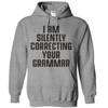 I Am Silently Correcting Your Grammar T Shirt - awesomethreadz