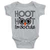 Hoot Hoot I'm So Cute Onesie  [T-Shirt] awesomethreadz