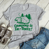 Camping Is In-Tents  [T-Shirt] awesomethreadz