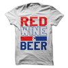 Red Wine And Beer T Shirt - awesomethreadz