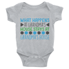 What Happens At Grandma's House Stays At Grandma's House Onesie   awesomethreadz