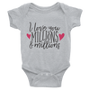 I Love You Millions And Millions Onesie  [T-Shirt] awesomethreadz