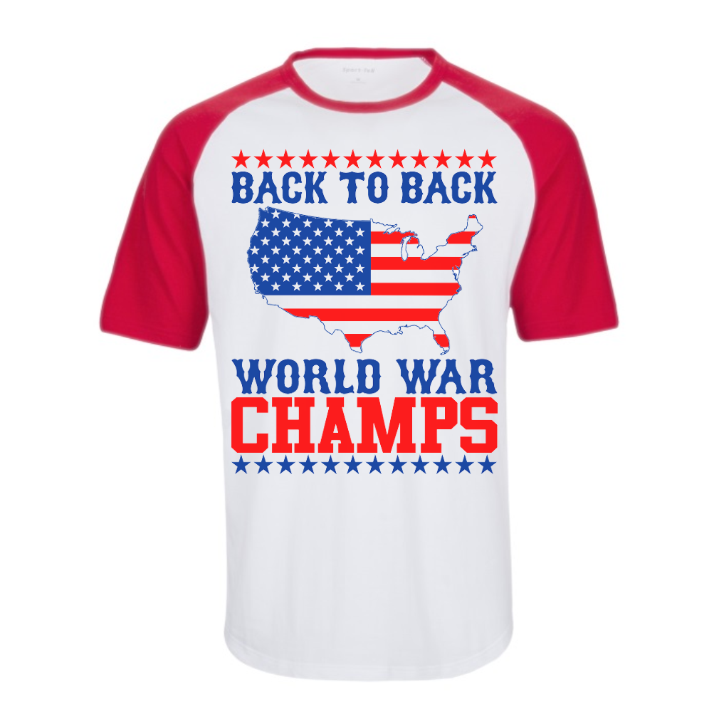 3455e3622 Back To Back World War Champs [T-Shirt] awesomethreadz