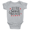 Little Heart Breaker Onesie   awesomethreadz