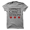 Happiness Is Being A Grandma T Shirt - awesomethreadz