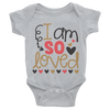 I Am So Loved Onesie  [T-Shirt] awesomethreadz