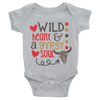 Wild Heart And A Gypsy Soul Onesie   awesomethreadz