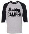 Happy Camper Camping  [T-Shirt] awesomethreadz