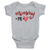 Mommy + Me= Love Onesie   awesomethreadz