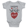 Daddy's Sweet Heart Onesie  [T-Shirt] awesomethreadz