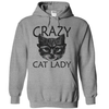 Crazy Cat Lady  [T-Shirt] awesomethreadz