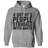 4 Out Of 3 People Struggle With Math  [T-Shirt] awesomethreadz
