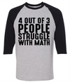 4 Out Of 3 People Struggle With Math   - awesomethreadz