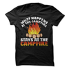 What Happens At The Campfire Stays At The Campfire  [T-Shirt] awesomethreadz