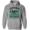 I Love Camping And By Camping I Mean Drinking In The Woods  [T-Shirt] awesomethreadz