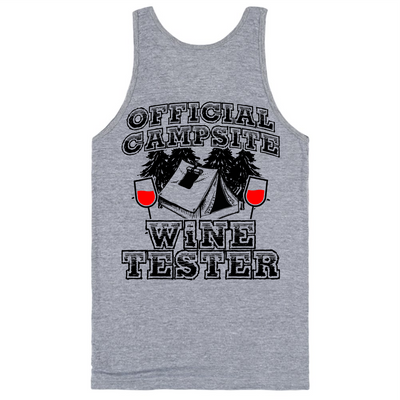 Official Campsite Wine Tester   awesomethreadz