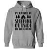 I'd Rather Be Outside Sleeping On The Ground  [T-Shirt] awesomethreadz
