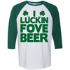 I Luckin Fove Beer  [T-Shirt] awesomethreadz