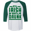 0% Irish 100% Drunk  [T-Shirt] awesomethreadz