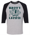 Happy Camper Pop-Up Camper  [T-Shirt] awesomethreadz