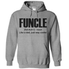 Funcle Just Like A Dad Only Way Cooler  [T-Shirt] awesomethreadz