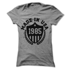 CUSTOMIZE WITH ANY YEAR... Made In The USA  [T-Shirt] awesomethreadz