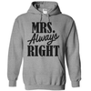Mrs. Always Right   awesomethreadz