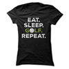 Eat Sleep Golf Repeat  [T-Shirt] awesomethreadz