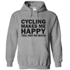 Cycling Makes Me Happy You, Not So Much  [T-Shirt] awesomethreadz