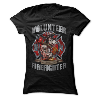 Volunteer Firefighter   awesomethreadz