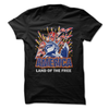 America Land Of The Free  [T-Shirt] awesomethreadz