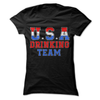 USA Drinking Team  [T-Shirt] awesomethreadz