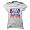 Let's Get Star Spangled Hammered  [T-Shirt] awesomethreadz