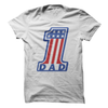 #1 Dad Flag  [T-Shirt] awesomethreadz