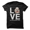 Poodle Love Is A Four-Legged Word  [T-Shirt] awesomethreadz